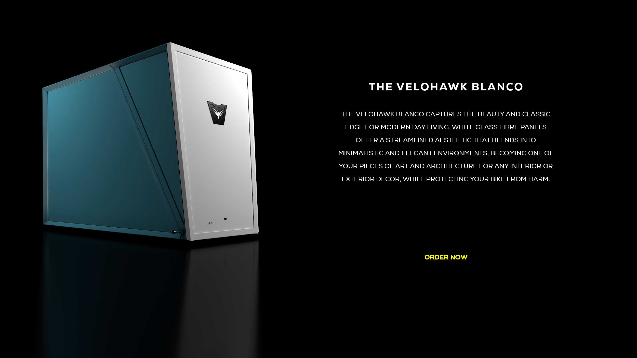 The Velohawk Blanco Storage Pod
