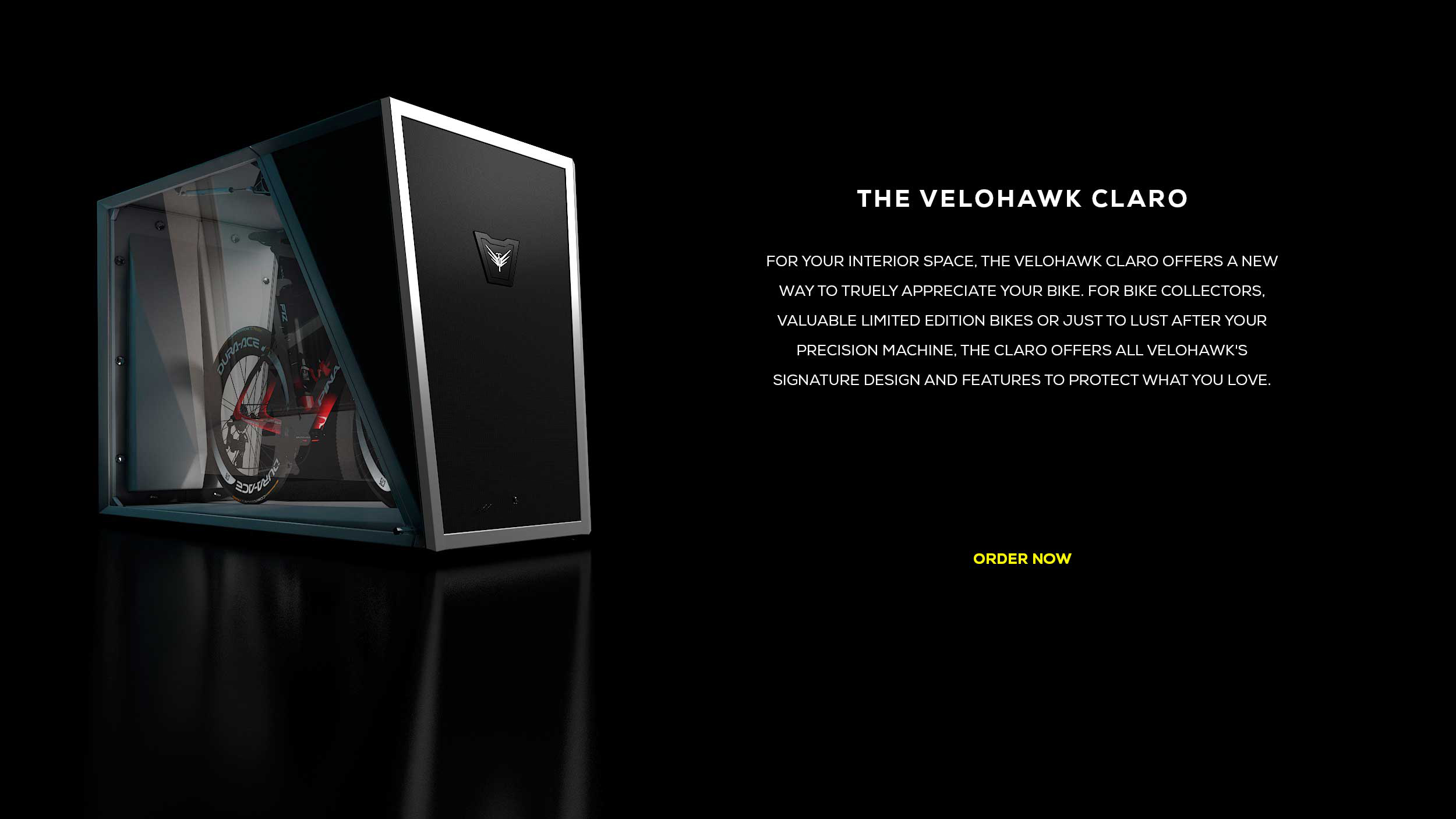 The Velohawk Claro Storage Pod